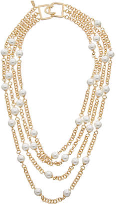 Kenneth Jay Lane 22K Plated Necklace