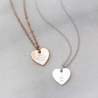 Forever Friends Bloom Boutique Sisters Are Engraved Necklace