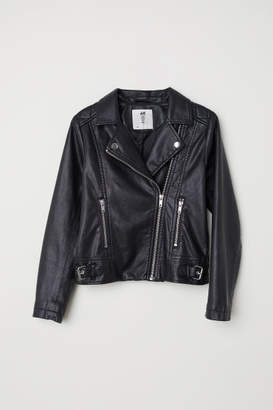 H&M Biker Jacket - Black