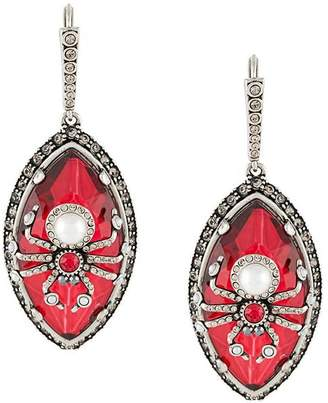 Alexander McQueen embellished spider earrings