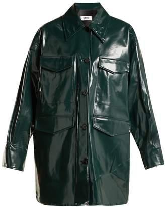 MM6 MAISON MARGIELA High-shine coated cotton jacket