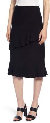 Ming Wang Ruffle Skirt