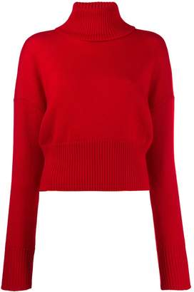 Societe Anonyme bigshort roll neck jumper