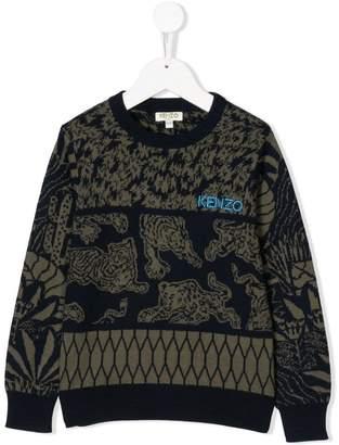 Kenzo tapestry design sweater