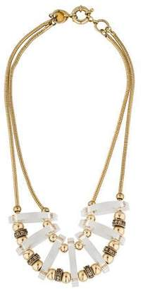 Giles & Brother Ice Domed Bib Necklace $195 thestylecure.com