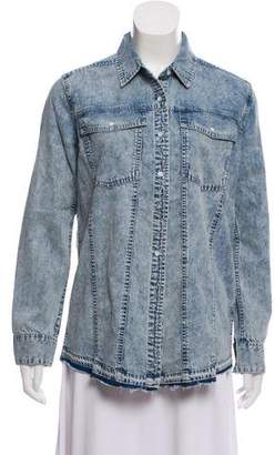 DL1961 Long Sleeve Button-Up Top w/ Tags