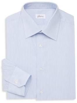 Brioni Cotton Striped Dress Shirt