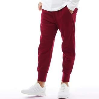 adidas Mens XBYO Sweat Pants Collegiate Burgundy