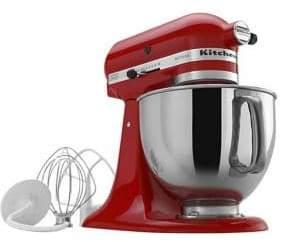 KitchenAid Artisan Series 325-Watt Tilt-Back Head Stand Mixer and Flex Edge Beater