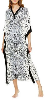 Ellen Tracy Patterned Caftan $58 thestylecure.com