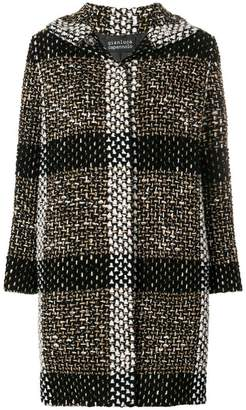 Gianluca Capannolo knitted check coat