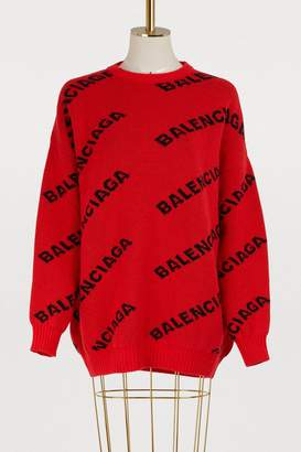 Balenciaga Crew neck sweater