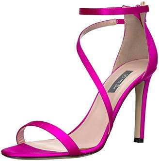 Sarah Jessica Parker Women's Serpentine Multi Strap Heel Sandal