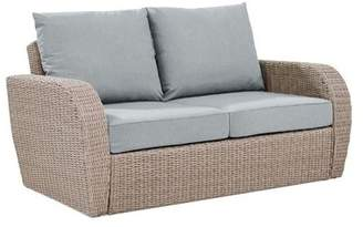 Augustine Crosley Furniture St Outdoor Wicker Loveseat