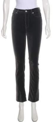 Rebecca Taylor Velvet Mid-Rise Jeans
