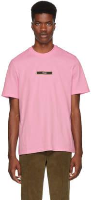 MSGM Pink Logo T-Shirt