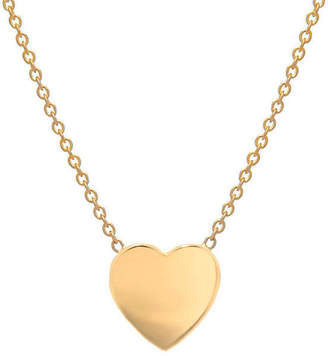 Zoe Lev Jewelry 14K Gold Heart Necklace