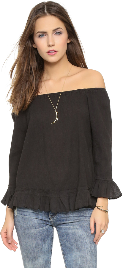 Love Sam Bella Off Shoulder Top
