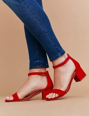 Lane Bryant Short Ankle-Strap Block Heel
