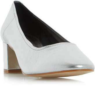Dune LADIES ANA - Unlined Block Heel Court Shoe