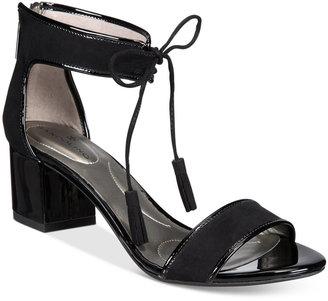 Bandolino Semise Block-Heel Sandals $69 thestylecure.com