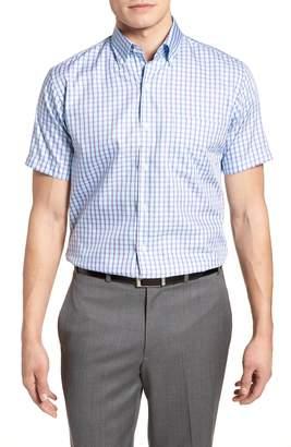 Peter Millar Crown Soft Carlsplaid Regular Fit Sport Shirt