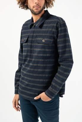 Leon Aime Dore Half Zip Pullover Shirt