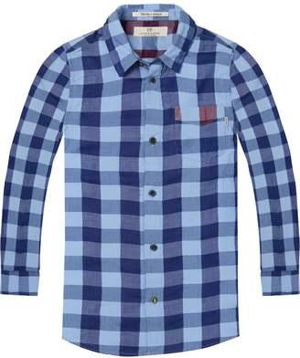 Scotch & Soda Bonded Check Shirt Regular fit