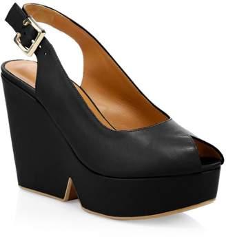db353fd218 Black Slingback Wedge Sandals For Women - ShopStyle UK