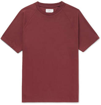 Mr P. - Cotton-Jersey T-Shirt - Burgundy