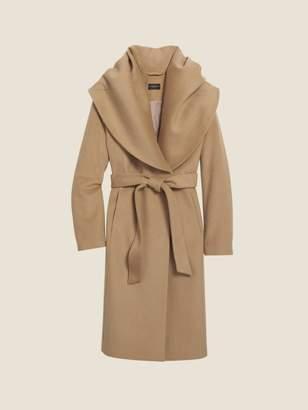 DKNY Wool Shawl Collar Coat