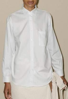 Base Range Baserange - Shirt Popeline White - S