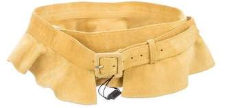 Missoni Suede Ruffled Belt w/ Tags