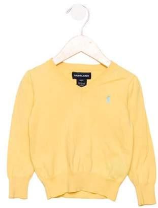 Ralph Lauren Boys' V-Neck Knit Sweater