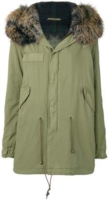 Mr & Mrs Italy zipped parka coat