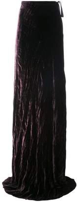Ann Demeulemeester extra long skirt