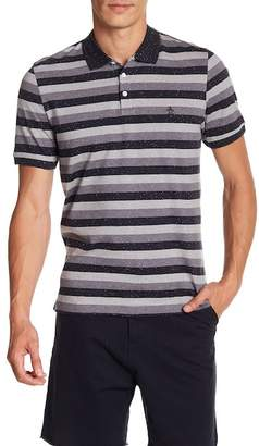 Original Penguin Short Sleeve Nep Stripe Polo