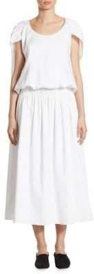 The Row April Cape Dress
