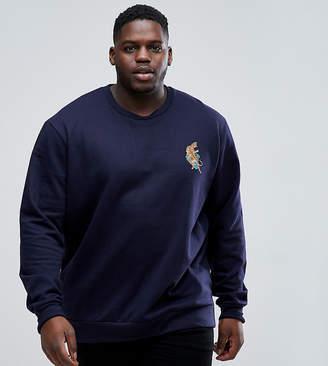 Le Breve Plus Tiger Sweatshirt