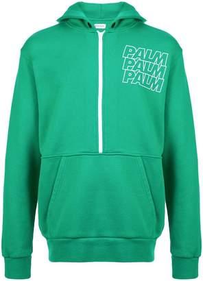 Palm Angels Palm print hoodie