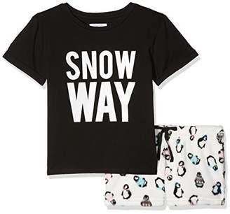 9aa4897919 New Look 915 Girl s 915 Snow Way Penguin Snuggle S Pyjama Sets