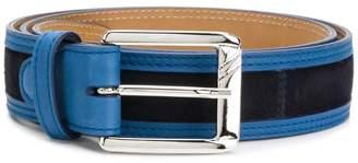 Moreschi contrast trim belt