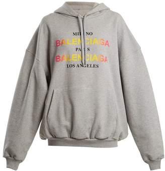 Balenciaga Hoodie - Womens - Grey