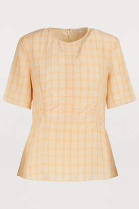 Acne Studios Checkered shirt
