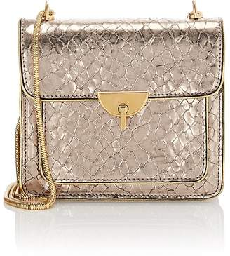Dries Van Noten Women's Snake-Embossed Patent Leather Chain Bag
