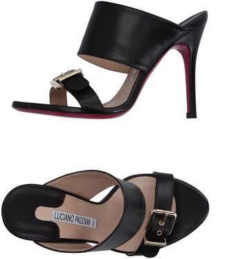 LUCIANO PADOVAN Sandals $266 thestylecure.com