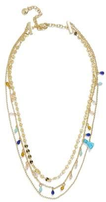 BaubleBar Brynn Layered Chain Necklace