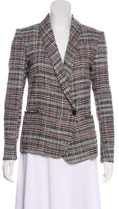 Etoile Isabel Marant Tweed Shawl Collar Blazer