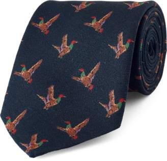 Ralph Lauren Duck Challis Narrow Tie