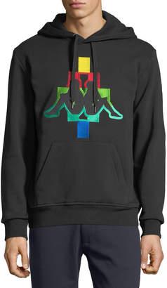 Marcelo Burlon County of Milan Men's Kappa Multicolor Logo Hoodie Sweatshirt